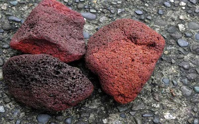 انواع سایز پوکه معدنی