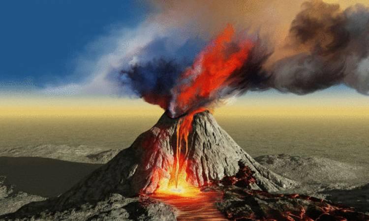 خاکستر آتشفشانی